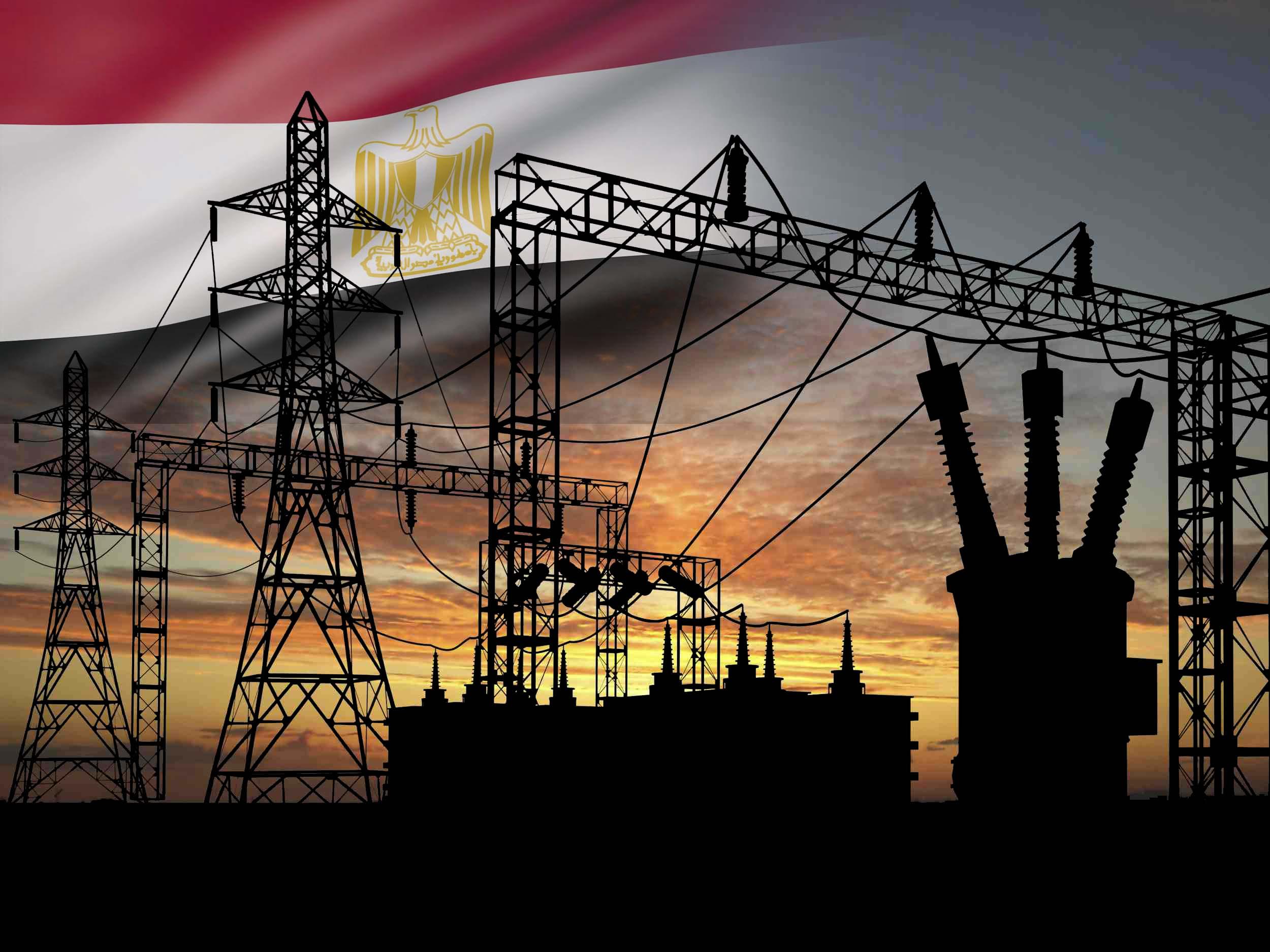 شبكات إمداد للكهرباء في مصر - العواصف الترابية