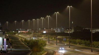 Photo of المدينة المنوّرة تضيء طريق الملك عبد الله بكشّافات (ليد)