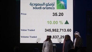 Photo of أسهم أرامكو ترتفع في البورصة السعودية بأكثر من 1%