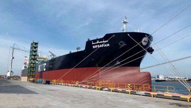 "Photo of الكويت تتسلّم رسميًا ناقلة النفط ""سفسافة"" من كوريا"