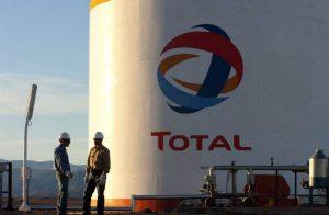 منشأة نفطية تابعة لشركة توتال الفرنسية