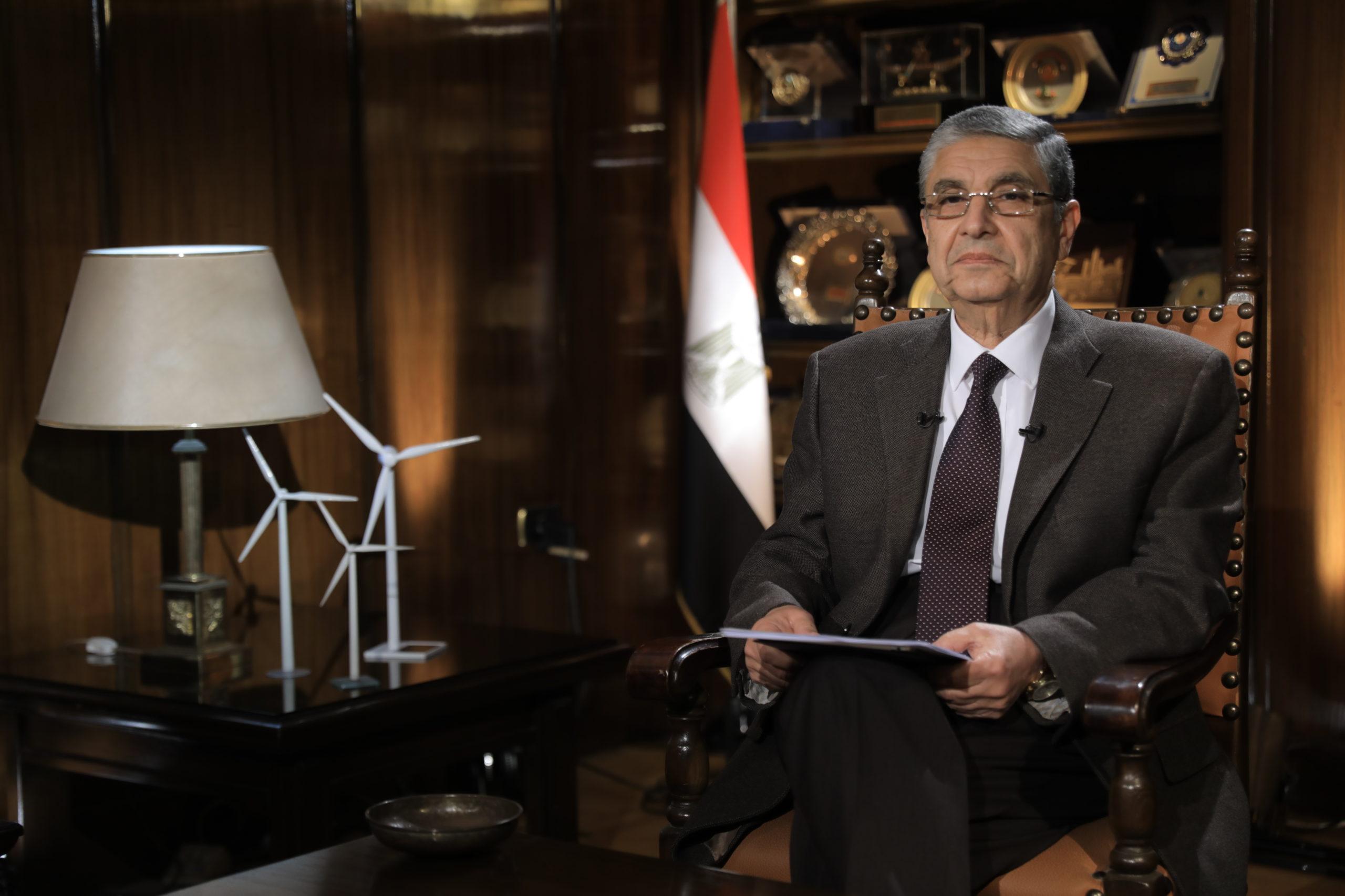الطاقة في أفريقيا - وزير الكهرباء المصري محمد شاكر
