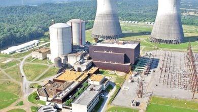 Photo of المفاعلات النووية الفرنسية تعمل بطاقة 54% بتراجع طفيف