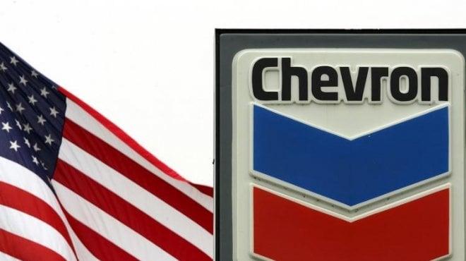 شعار شركة شيفرون الأميركية