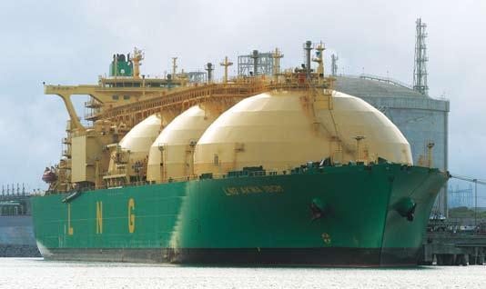 ارتفاع اسعار الغاز المسال في آسيا