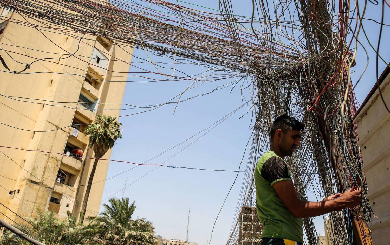 أزمة كهرباء في العراق