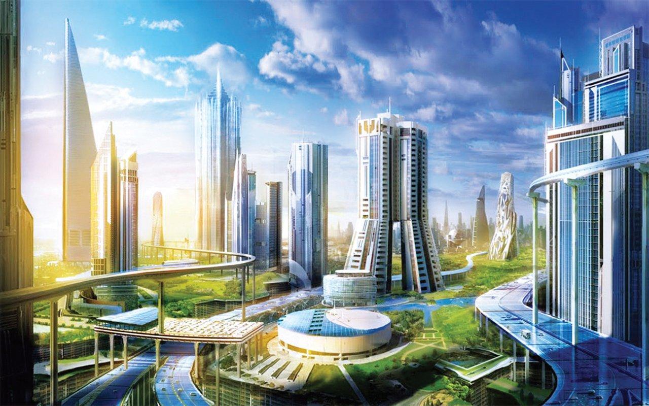 مخطط لمشروع نيوم المقرر فيه إنشاء أكبر مصنع للهيدروجين في العالم
