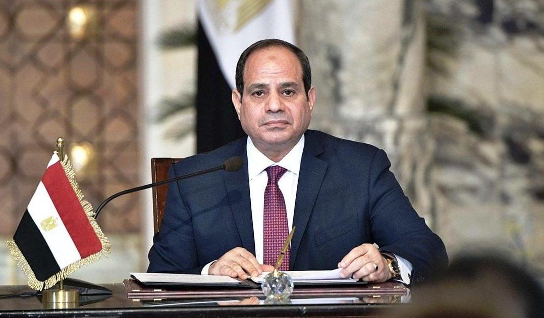 رئيس مصر عبدالفتاح السيسي