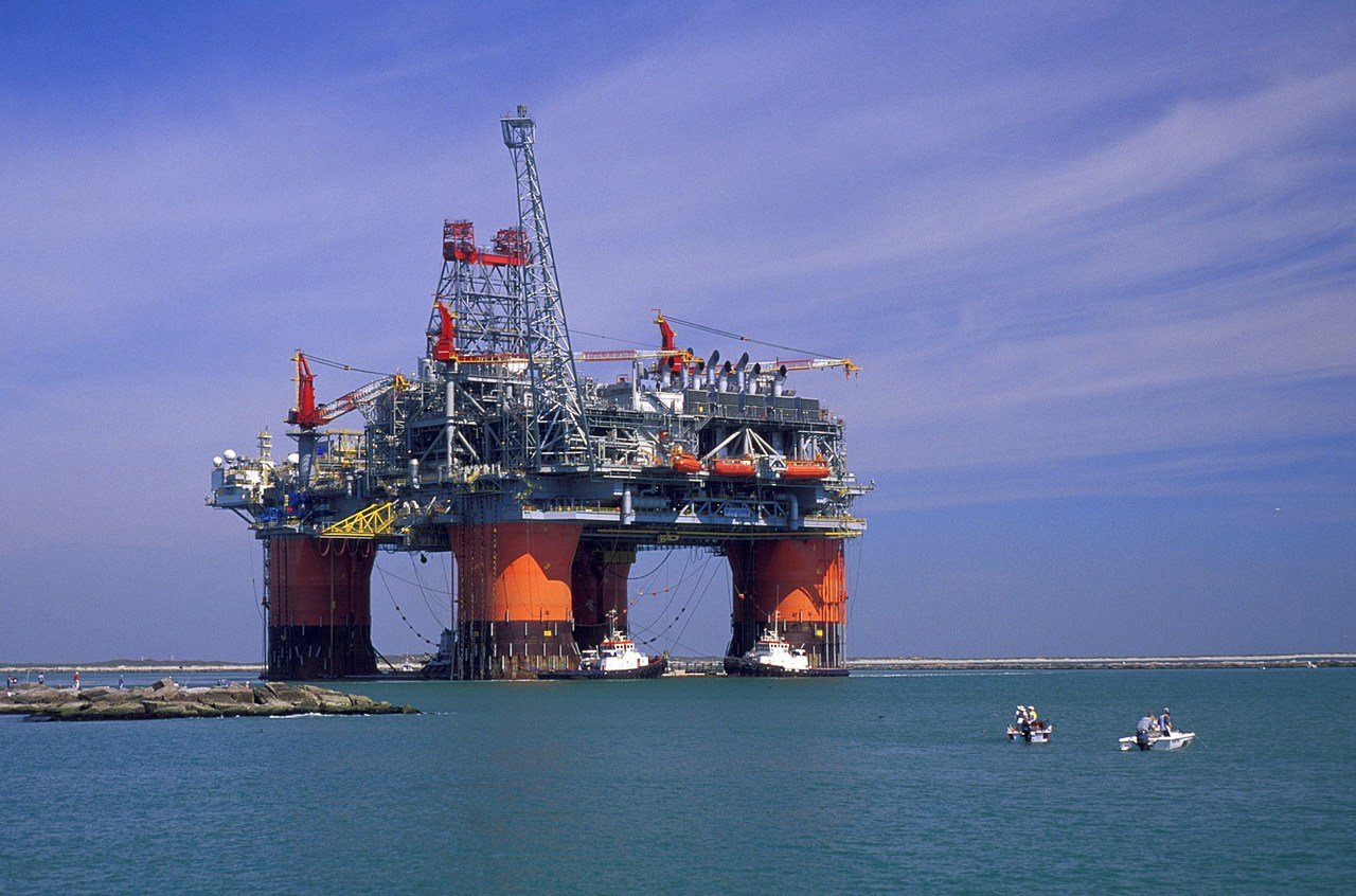 منصة لإنتاج النفط - أرشيفية