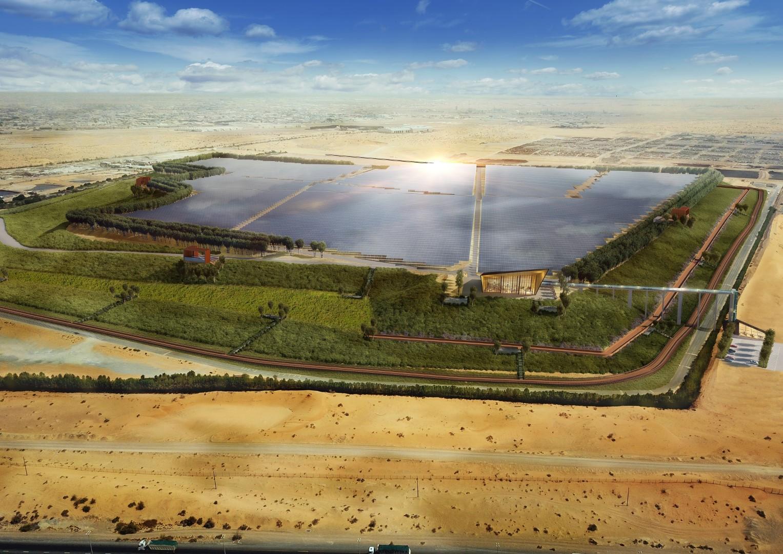 مشروع لتحويل مكب نفايات في الشارقة الإماراتية لمزرعة طاقة شمسية
