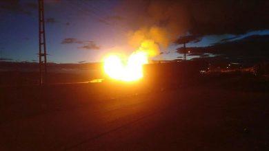 Photo of انفجار خطّ أنابيب يوقف تدفّق الغاز من بلغاريا إلى اليونان
