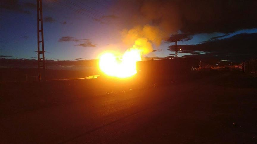 انفجار خط أنابيب يوقف تدفق الغاز من بلغاريا إلى اليونان