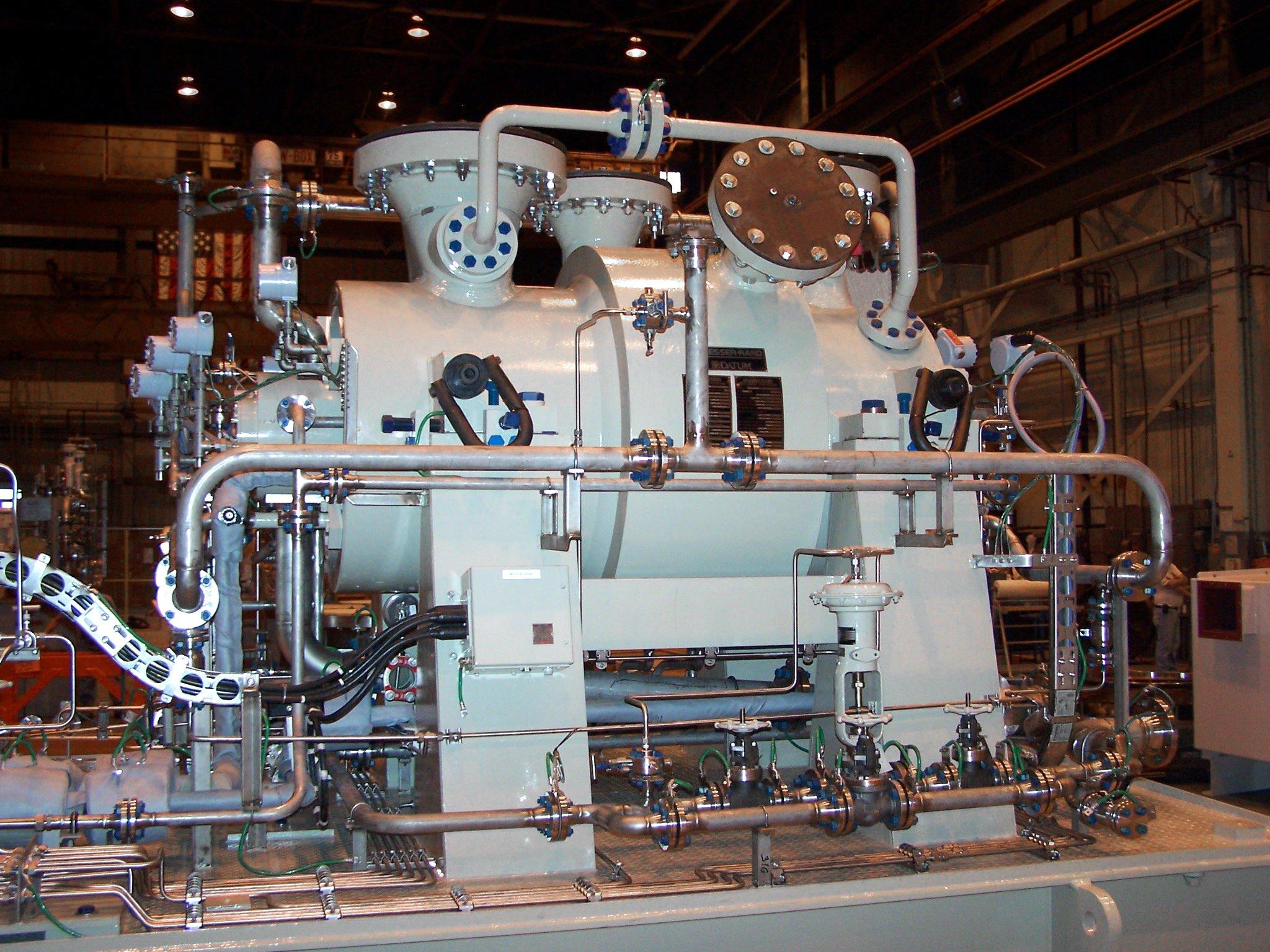 سيمنس: توريد ضواغط هواء لمشروع تخزين احتياطيات الغاز الطبيعي لأرامكو السعودية