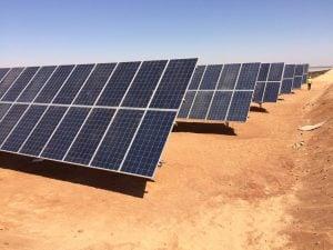 ألواح طاقة شمسية -