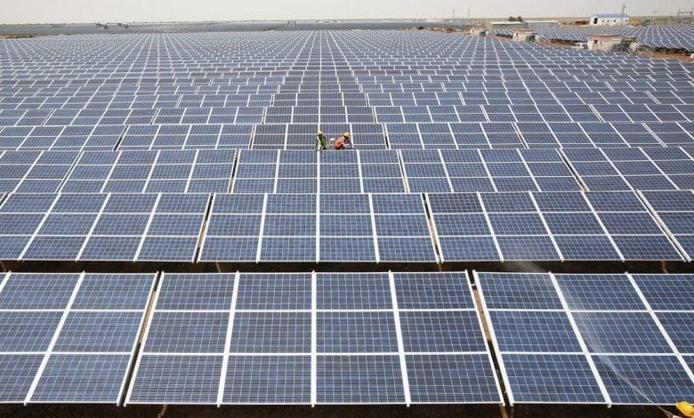 مشروعات شمسية - ألواح لإنتاج الطاقة الشمسية - العراق