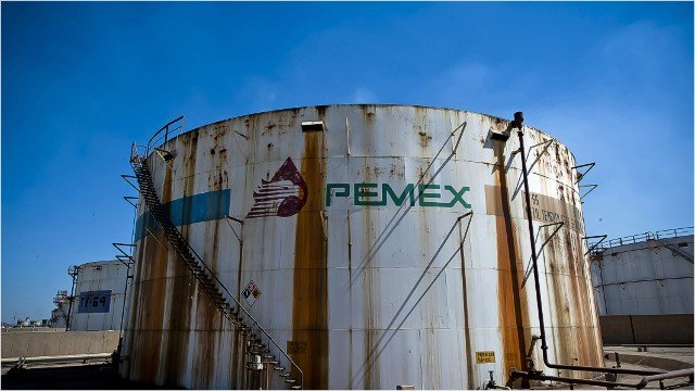 خزان نفط لشركة بيمكس المكسكية