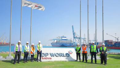 """Photo of """"موانئ دبي"""" السخنة تستقبل أكبر سفينة حاويات بطول 366 مترًا"""