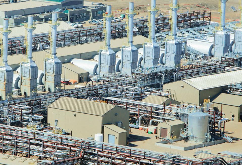 مولدات البخار في شركة سينوفيس الكندية