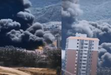 Photo of انفجار هائل يغلق محطّة ديزل حيوي جنوب الصين 3 أشهر