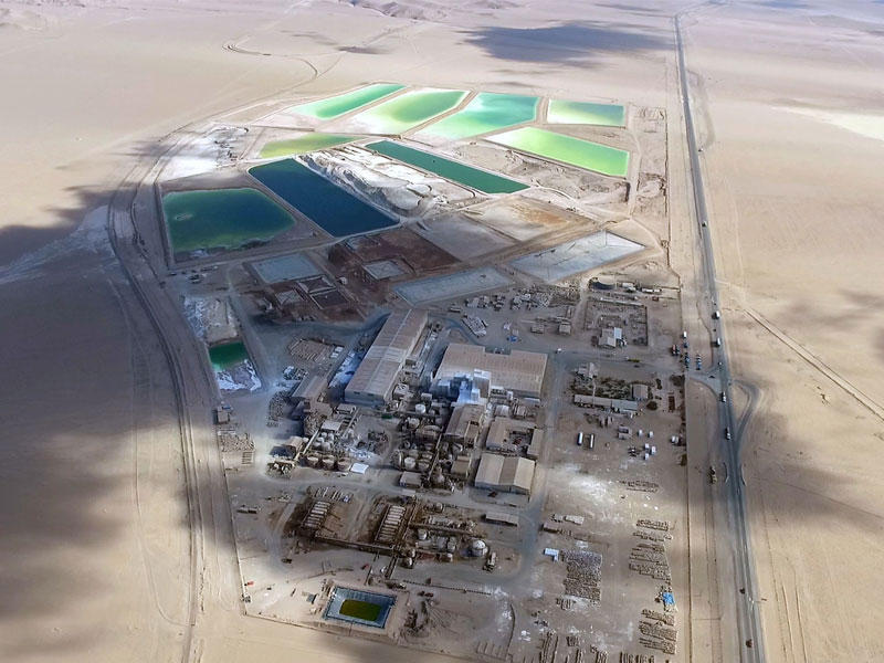إس كيو إم - أحد مصانع معالجة الليثيوم