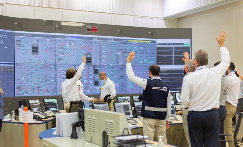 الإمارات تشغل أول مفاعل نووي عربي لأغراض سلمية