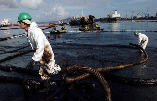 تسرب نفطي - التسرب النفطي