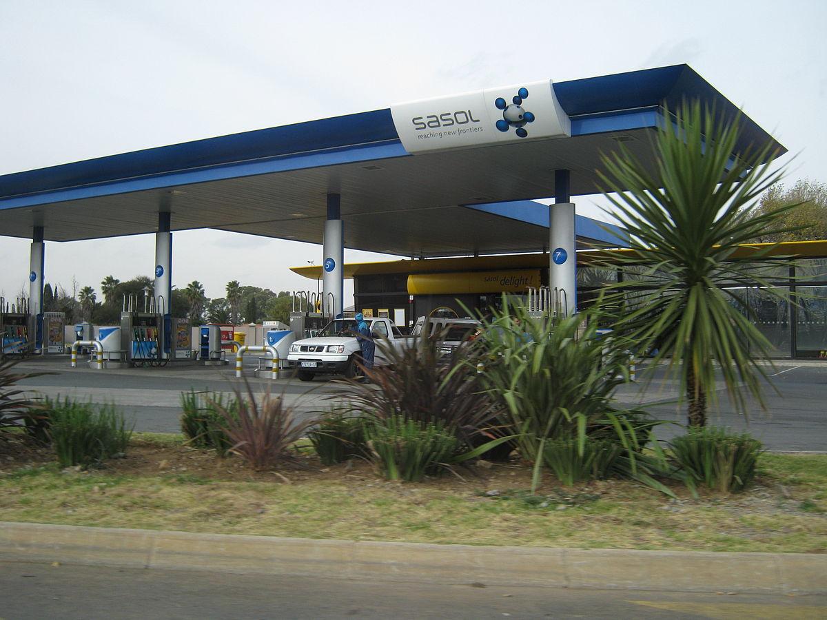 أحد محطات الوقود التابعة لشركة ساسول - أرشيفية