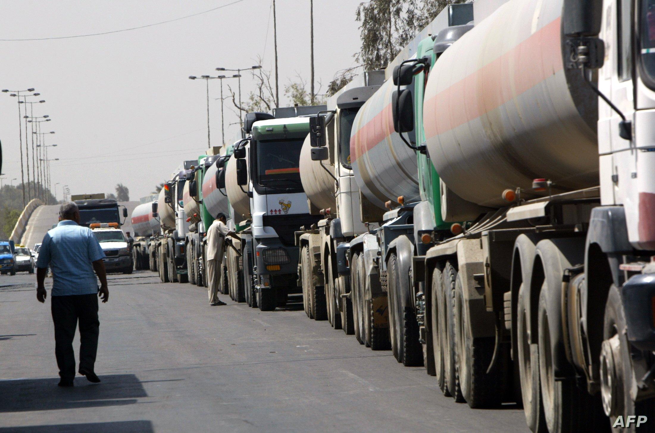 واردات الأردن من النفط العراقى تسجل 261 ألف برميل الشهر الماضي