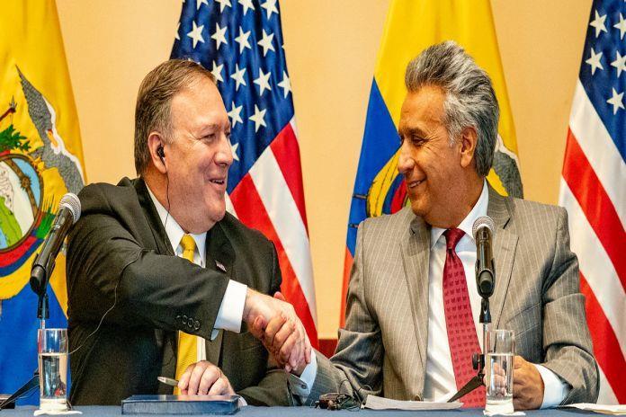 مناقشات بين أميركا والإكوادور للتعاون فى قطاع الطاقة