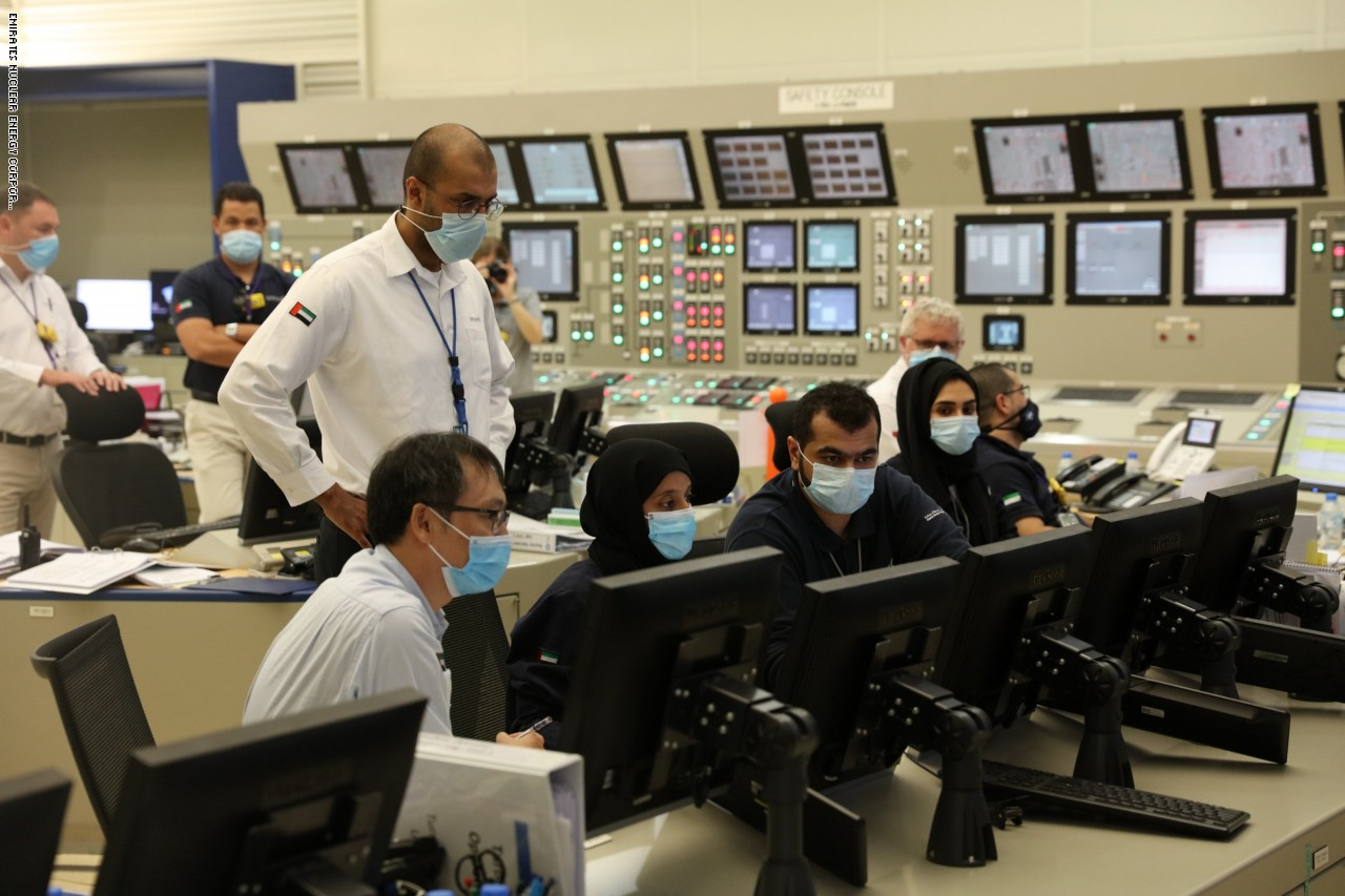 التشغيل التجاري لمحطة براكة النووية