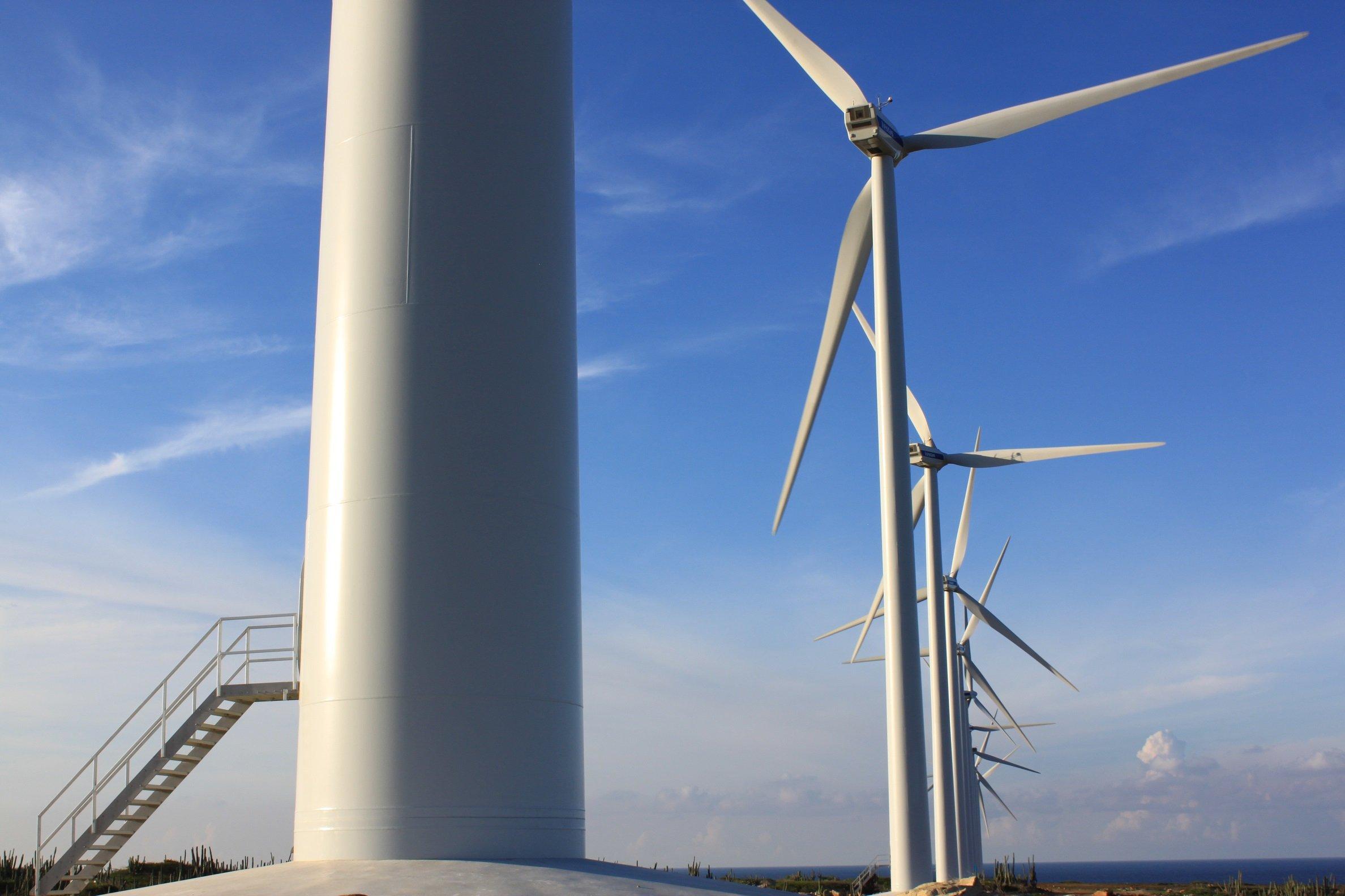 توربينات طاقة رياح لشركة إينل جرين باور- الغاز الحيوي