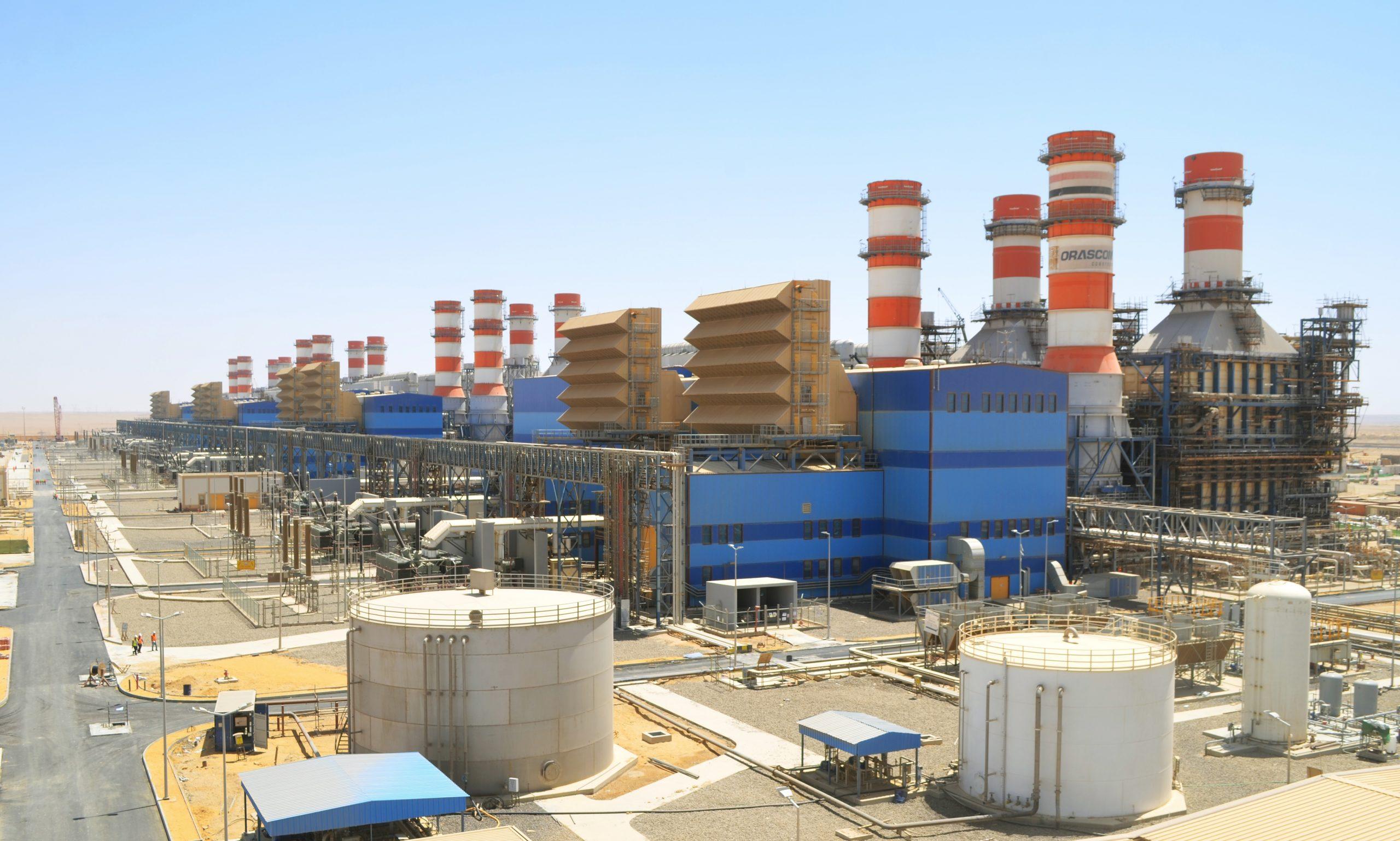 محطة كهرباء العاصمة الإدارية فى مصر