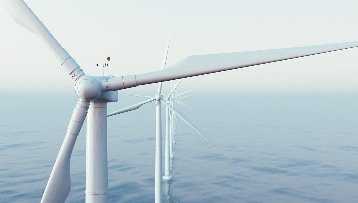 توربينة طاقة رياح بحرية