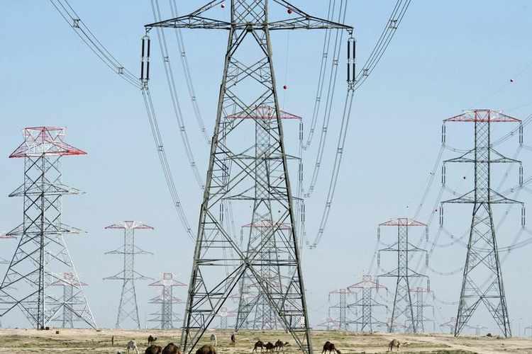 توليد الكهرباء - أبراج كهرباء