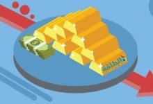 Photo of ارتفاع العملة الأميركية يهبط بأسعار الذهب دون 1900 دولار