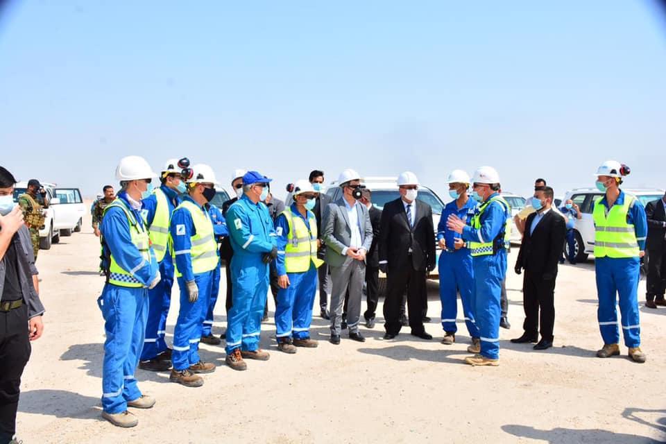 النفط العراقي - جولة سابقة للوزير