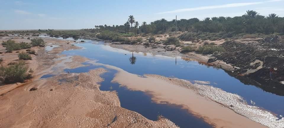 الجزائر: صورة للتسرب النفطي في سبتمبر 4 2020