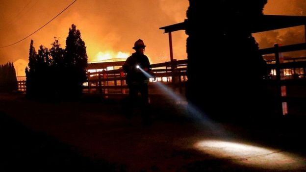 انقطاعات الكهرباء تظلم عاصمة تشيلي