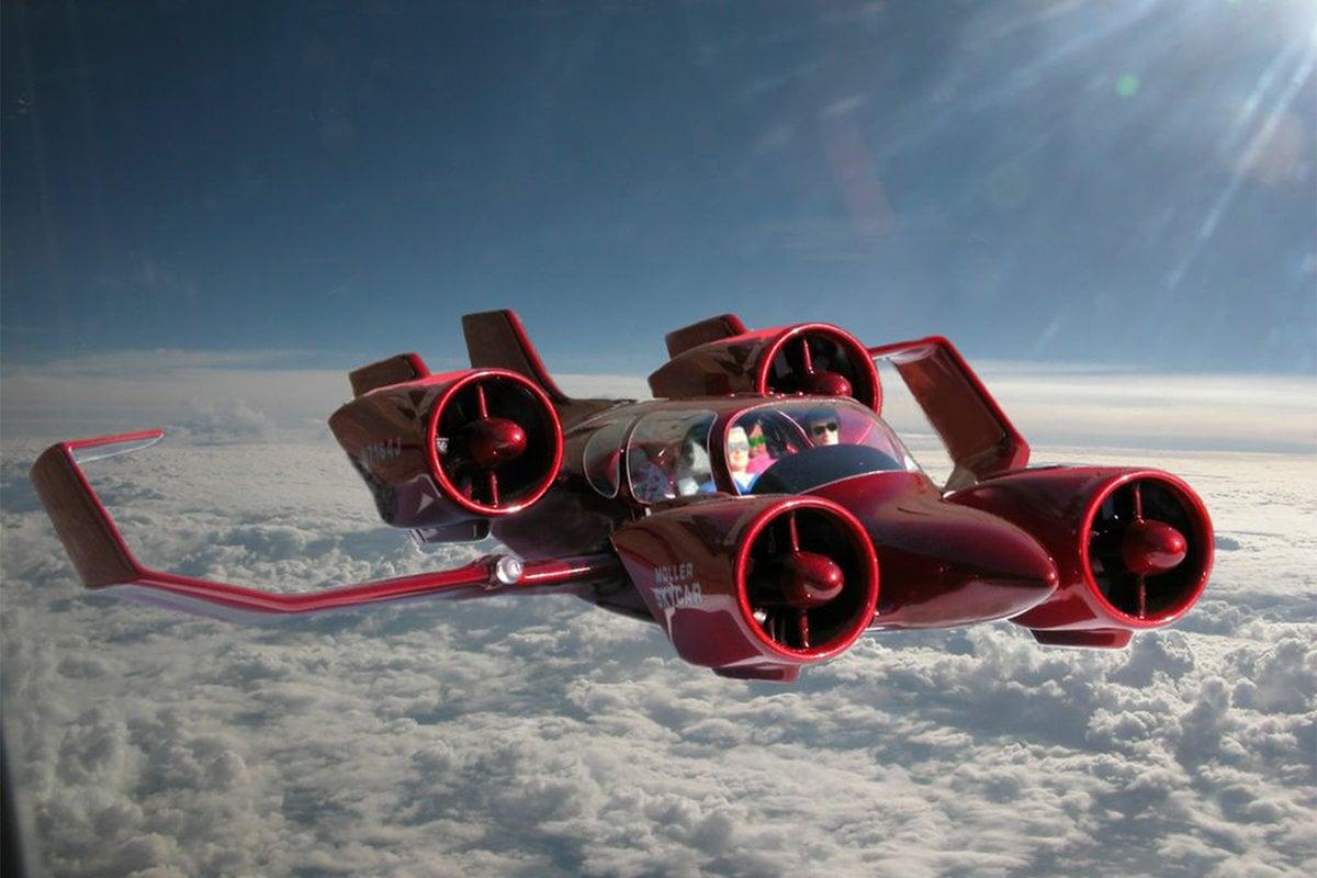 نموذج للسيارات الطائرة