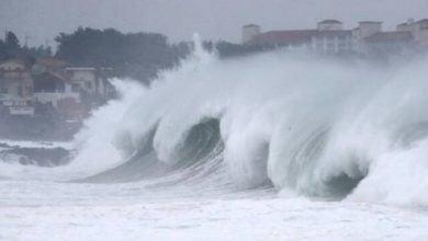 Photo of الظلام يضرب جنوب اليابان نتيجة إعصار هايشن