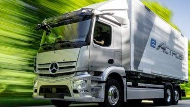 Photo of مرسيدس تعلن موعد إنتاج الشاحنة الكهربائية أكتروس