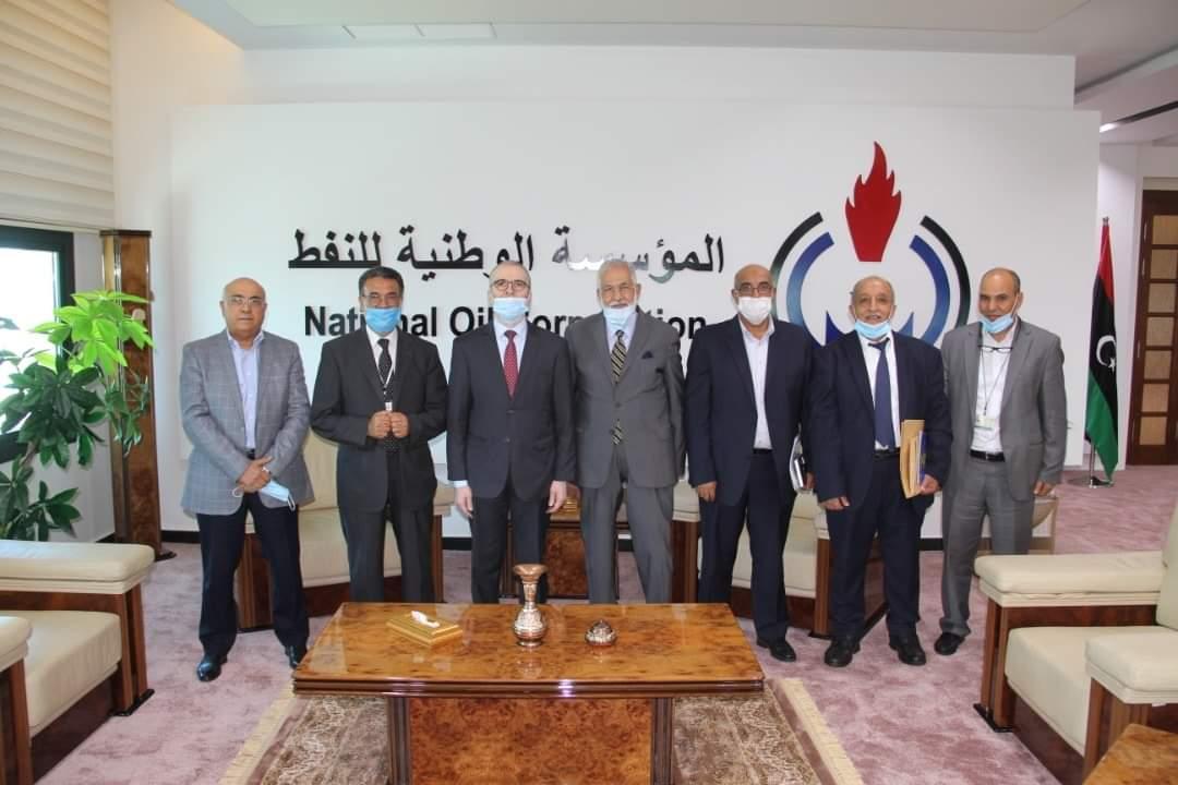 اجتماع بين مؤسسة النفط الليبية ووزير الخارجية بحكومة الوفاق
