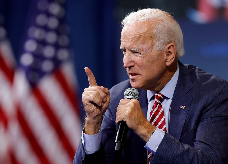المرشح للرئاسة الأميركية جو بايدن