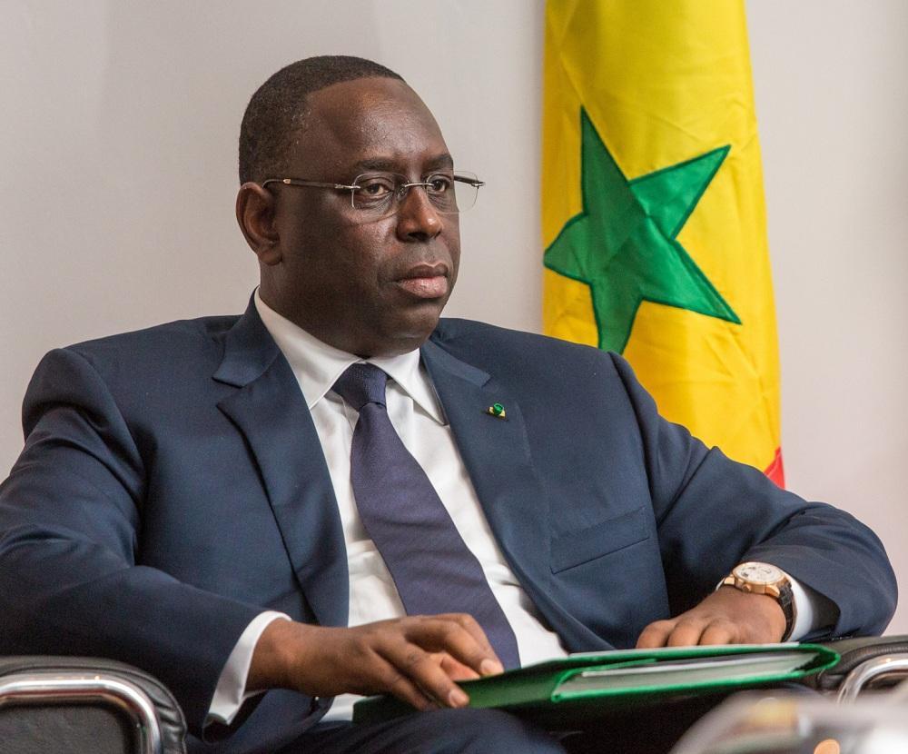 الرئيس السنغالي ماكي سال،
