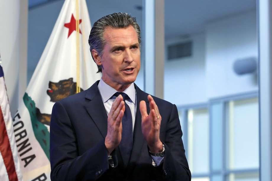 حاكم ولاية كاليفورنيا غافن نيوسوم