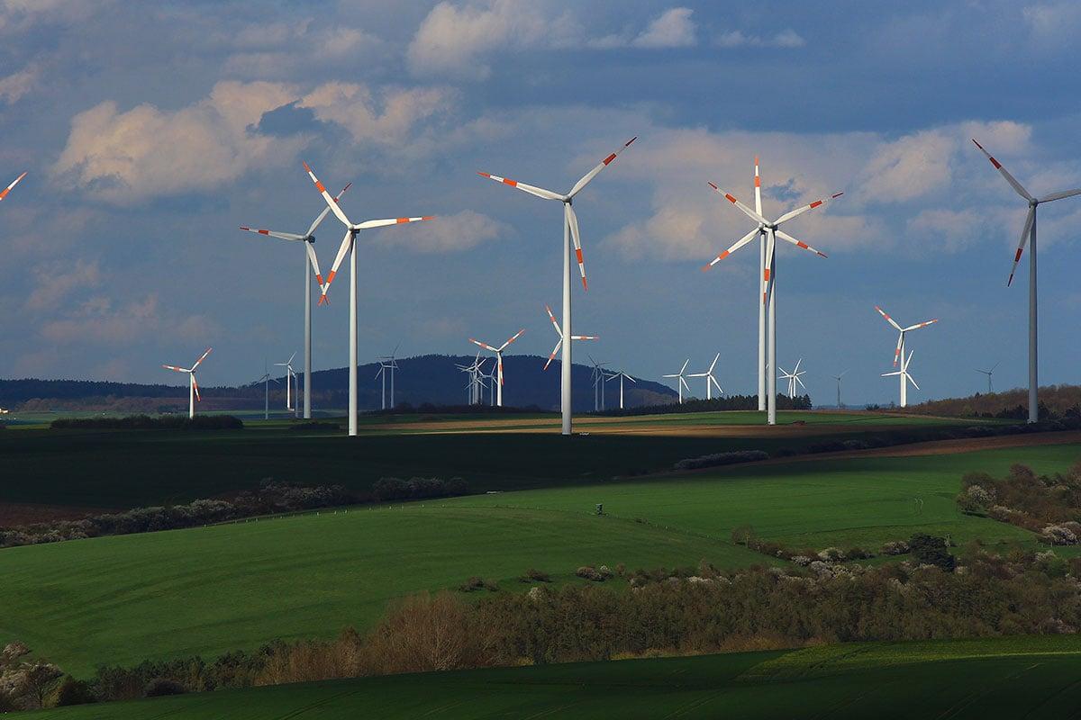 مشروعات الطاقة المتجددة في ألمانيا