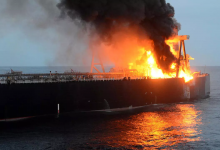 Photo of سريلانكا تعلن إصلاح مكان تسرب الديزل من ناقلة النفط المحترقة