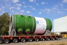 Photo of شحن أول هيكل مفاعل لمحطة أكويو النووية في تركيا