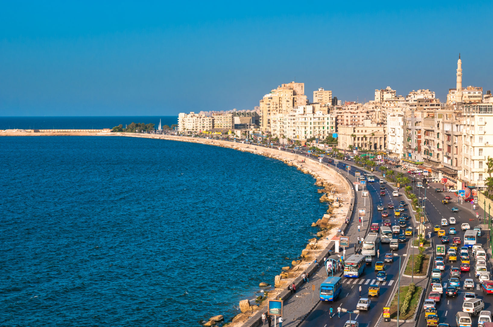 مدينة الإسكندرية المقرر إنشاء المستودعات البترولية فيها من جانب توتال وأولى إنرجي