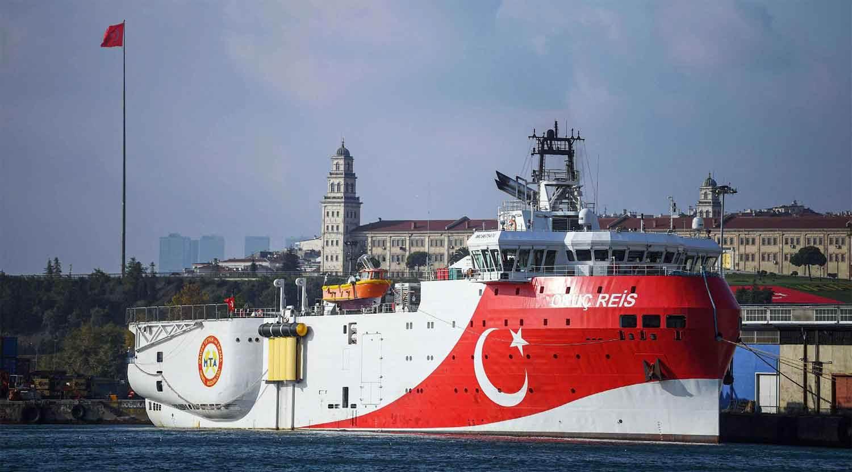 سفينة المسح التركية أوروك ريس،